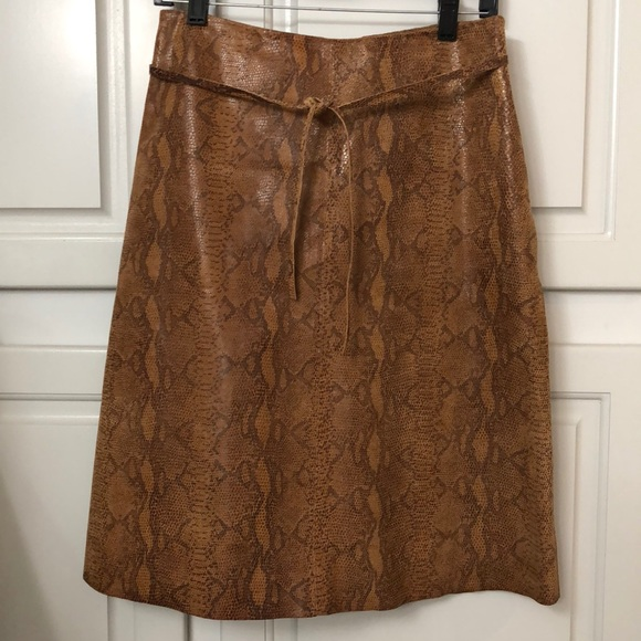 Hugo Buscati Dresses & Skirts - Hugo Buscati LEATHER skirt